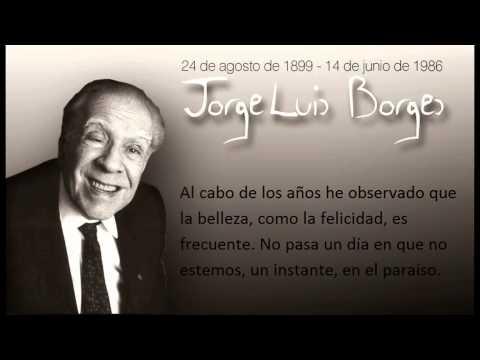 Imágenes con frases destacadas de Jorge Luis Borges para Whatsapp
