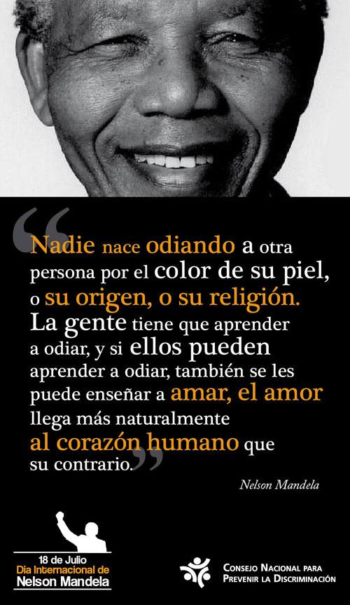 Imágenes del Día Internacional de Nelson Mandela para compartir