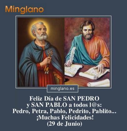 29 de Junio – Imágenes con frases para el Día de San Pedro y San Pablo