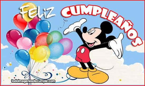 Tarjetas de fel z cumplea os con personajes de disney para descargar gratis frases hoy - Cumpleanos para ninos de 11 ...