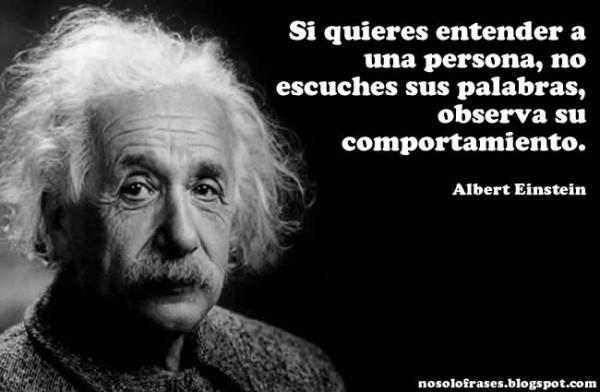 Imágenes con frases célebres de Albert Einstein para compartir
