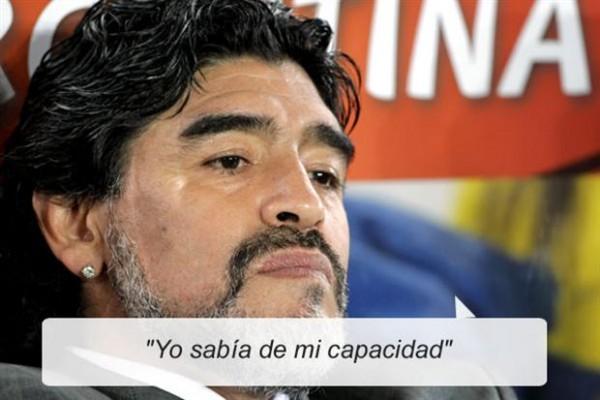 Imágenes con frases de Diego Armando Maradona para compartir