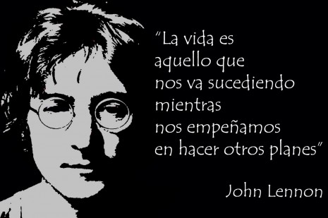 Imágenes con frases de John Lennon para Whatsapp
