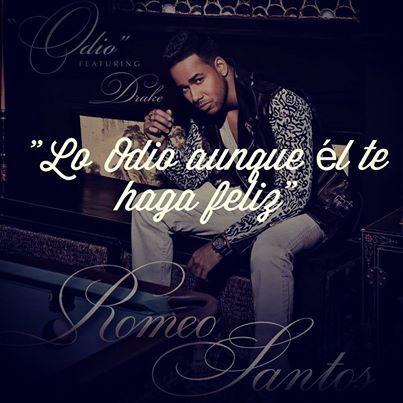 Frases de canciones e imágenes de Romeo Santos para compartir