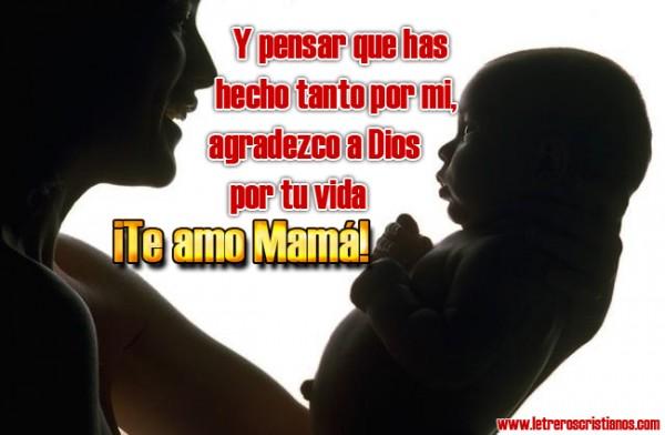 ¡¡Te amo Mamá!! – Imágenes para compartir con frases para el Día de la Madre