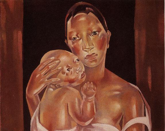 pinturas dedicadas a las Madres  (2)