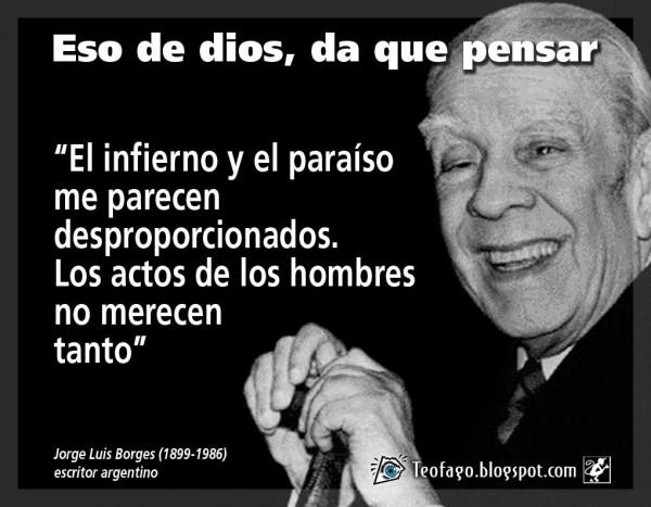 Imágenes Con Frases Destacadas De Jorge Luis Borges Para