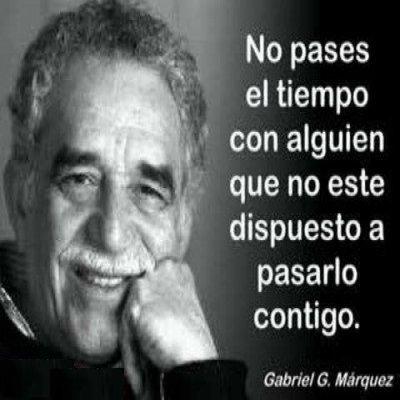 Imágenes y frases célebres de Gabriel García Márquez para Whatsapp