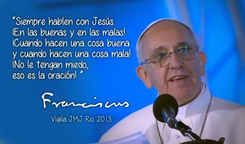 Frases destacadas del Papa Francisco para Whatsapp