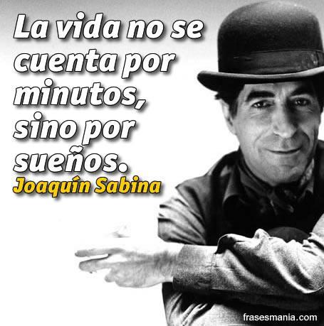 Imágenes y frases de canciones de Joaquín Sabina para compartir