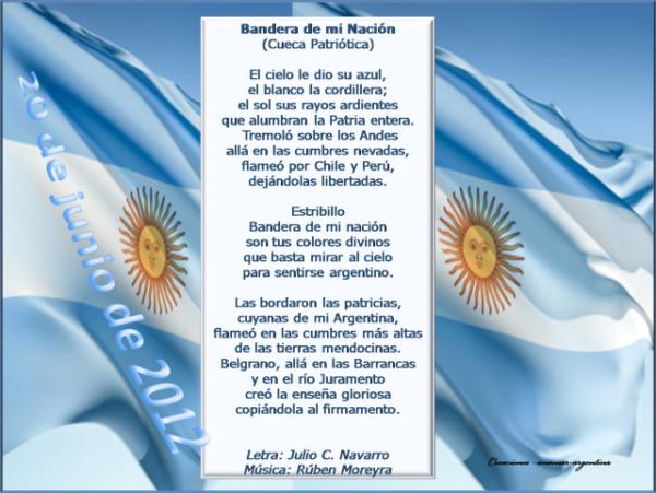 20 de Junio - Día de la Bandera Argentina (1)
