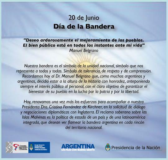 Imágenes Del 20 De Junio Felíz Día De La Bandera Argentina