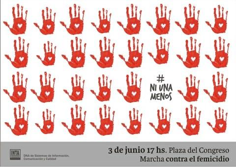 3 De Junio Marcha Ni Una Menos Contra Las Femicidios En