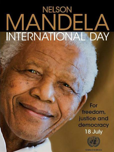 18 de julio – Nelson Mandela International Day