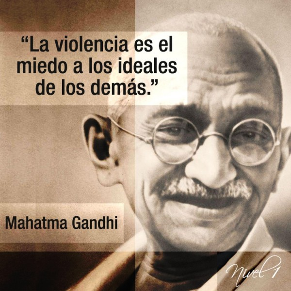 Imágenes Con Frases Célebres De Mahatma Gandhi Para Compartir