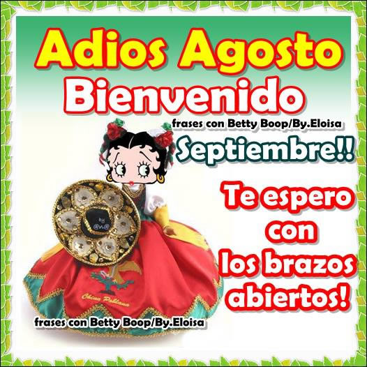 Imágenes De Adiós Agosto Bienvenido Septiembre Para