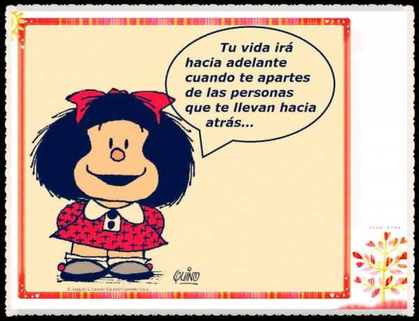 Imágenes divertidas de Mafalda con frases para reflexionar