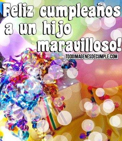 Mensajes Bonitos De Felíz Cumpleaños Para Dedicar A Mi Hijo Fraseshoy Org