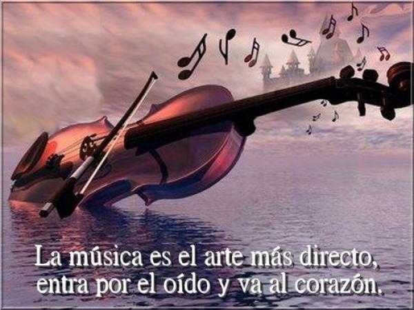 Imágenes con frases bonitas para compartir este Día de la Música