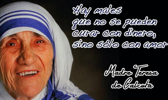 Frases E Imagenes De La Madre Teresa De Calcuta Para Reflexionar
