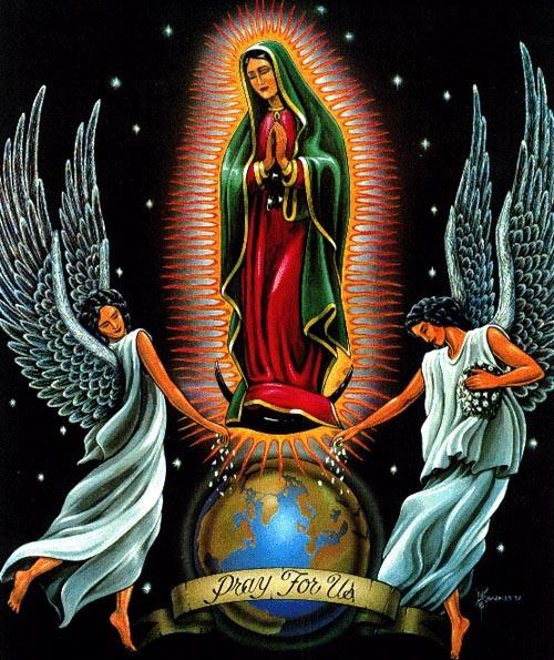 12 de diciembre – Día de la Santísima Vírgen de Guadalupe