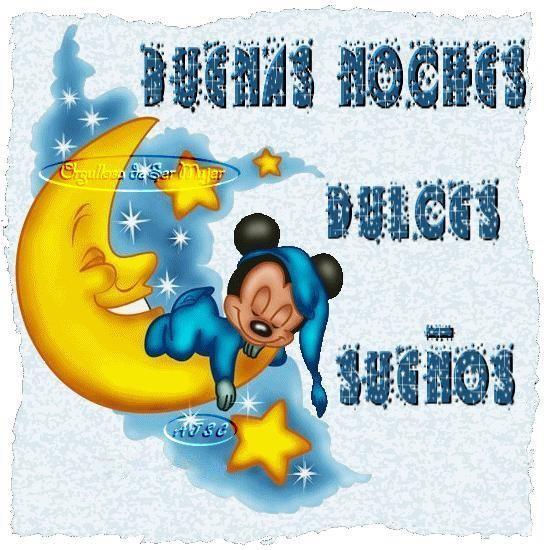 Buenas Noches - dulces sueños - Feliz Noche  (1)