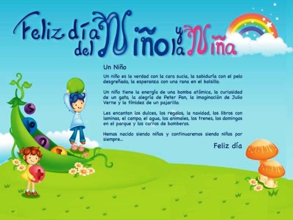 Descargar Lindas Tarjetas Para El Día Del Niño Con Frases