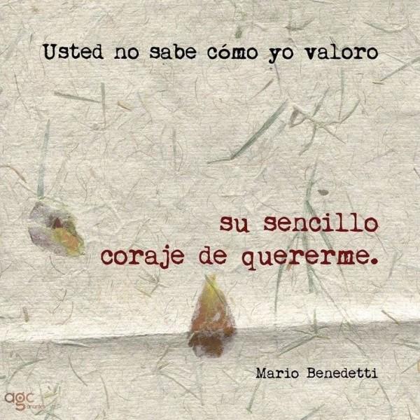 Imagenes Con Frases De Amor Del Escritor Uruguayo Mario Benedetti