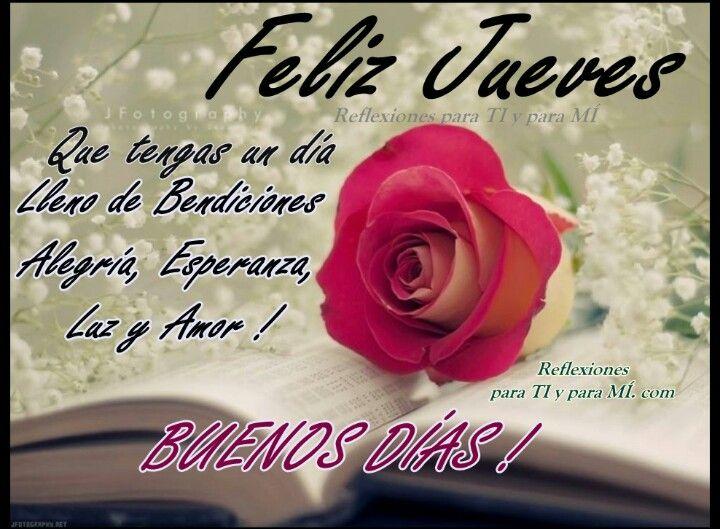 🌷💕 Hola buenos dias amig@s deseo tengan un dia maravilloso feliz jueves  Dio.