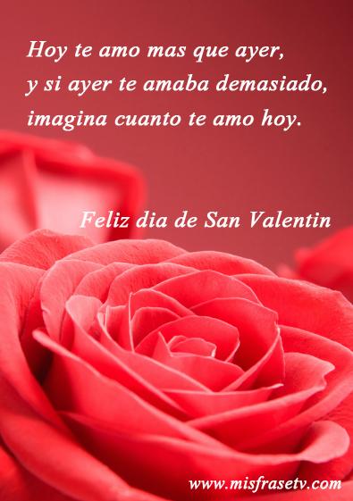 Tarjetas Bonitas Con Mensajes De Amor Para El Dia De San Valentin