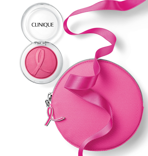Clinique_Pink with a Purpose Cheek Pop with Bag