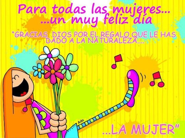 Feliz Dia Mujer frases con imagenes 8 de marzo (53)
