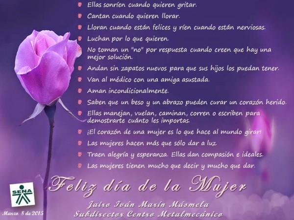 Frases para el dia de la Mujer 8 de marzo para compartir (2)