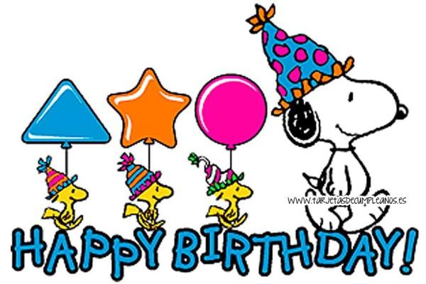 Imágenes de Feliz Cumpleaños con dibujos  (13)