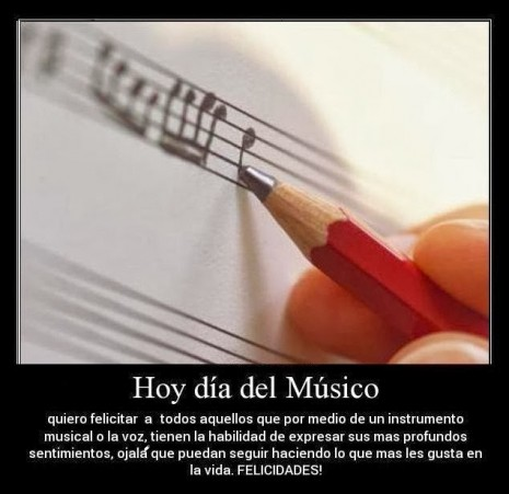 Imágenes, frases y mensajes Día de la Musica  (11)