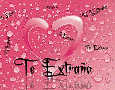 Imagenes de Amor y Frases de Amor, Te Extra_o 9