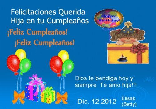 Mensajes Bonitos De Felíz Cumpleaños Para Dedicar A Mi Hijo