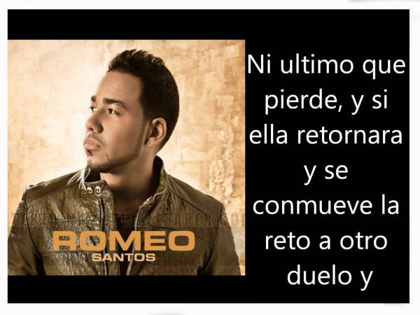 Imágenes Con Frases De Canciones De Romeo Santos Para Compartir