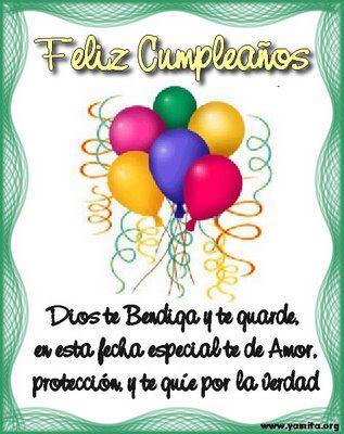 Imágenes Para Desear Felíz Cumpleaños Con Frases Lindas