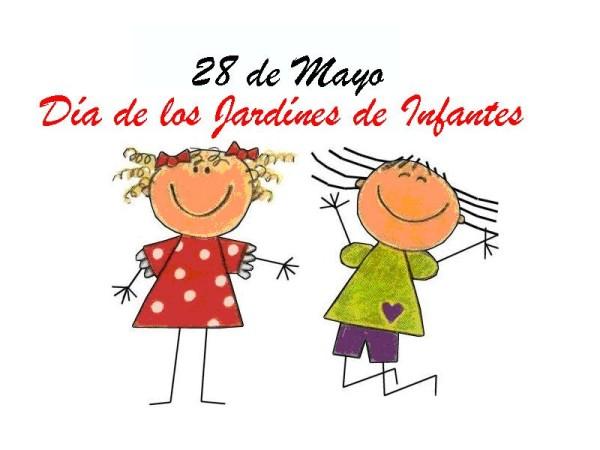 28 de mayo Imágenes con frases del Día de los Jardines de Infantes y ...