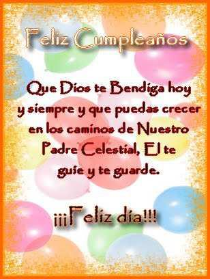 mensajes de Feliz Cumpleaños cristianos  (7)
