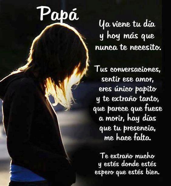 Imágenes Con Frases Para Un Padre Fallecido Que Está En El