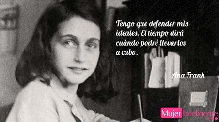 Frases célebres de Ana Frank sus mejores frases