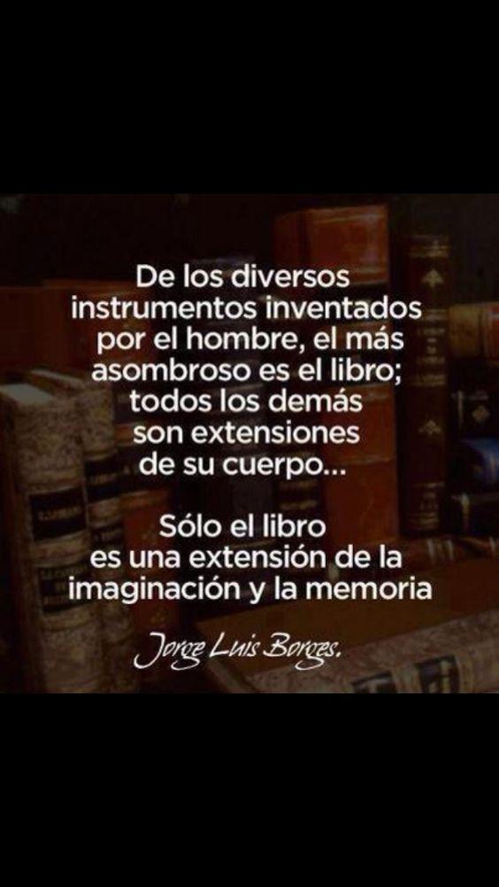 Frases Con Mensajes Bonitos De Jorge Luis Borges Fraseshoy Org