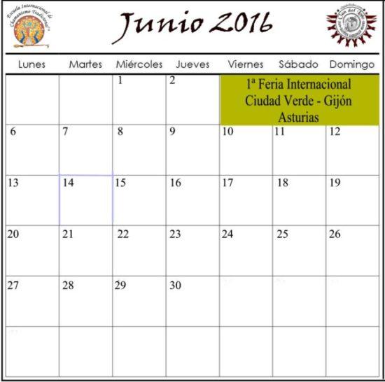 Imágenes de Junio 2016 – calendarios para guardar o descargar