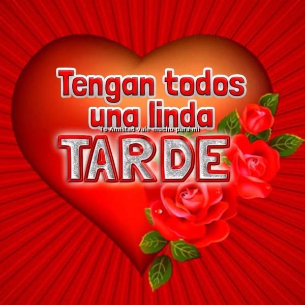 """Frases con mensajes bonitos de """"Buenas Tardes"""" en imágenes"""
