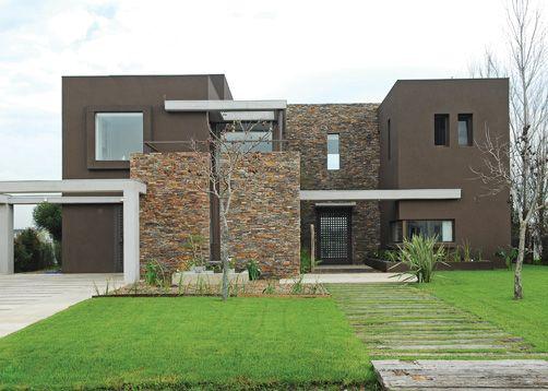 Imgenes de Fachadas modernas de casas con piedras FrasesHoyorg