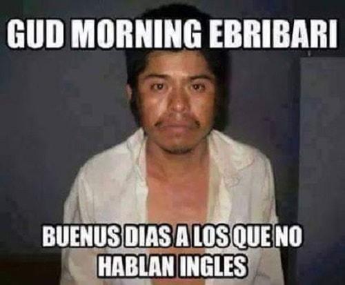 Memes De Buenos Días Chistosos Con Frases Divertidas Para