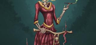 Imágenes del Día de Muertos con calaveras, frases y leyendas
