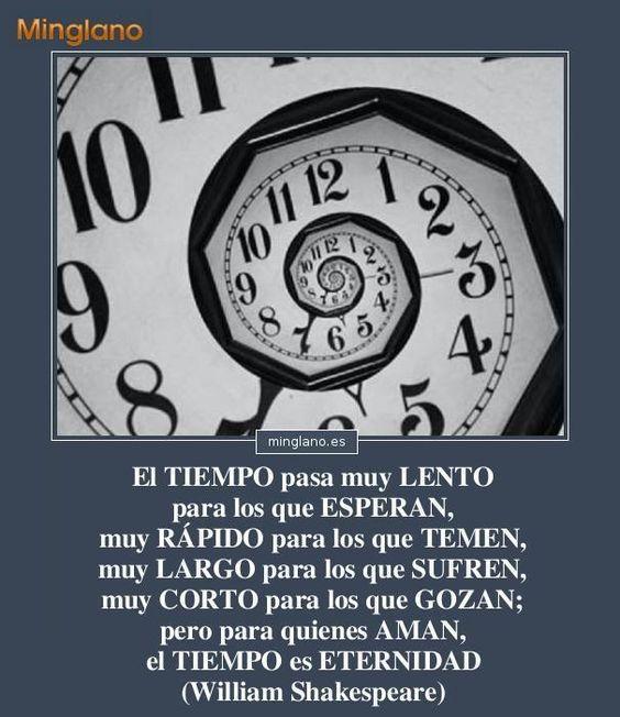 Frases sobre el paso del tiempo